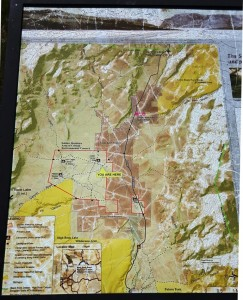Soldier Meadows Area of Critical Environmental Concern Map